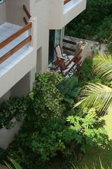 Akumal condo photo - The 2nd bedroom porch with private views to our gardens!