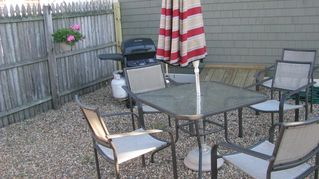 Plum Island cottage photo - Portion of Patio Area