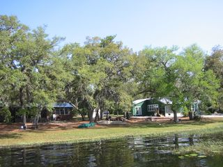 Ocala cottage photo - View of 2 acres from the dock