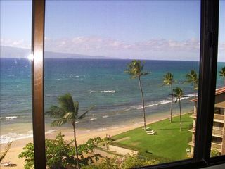 Lahaina condo photo - Ocean Front View from second BR