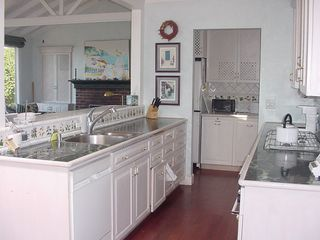 Bodega Bay cottage photo - Fully-equipped Kitchen with view of ocean
