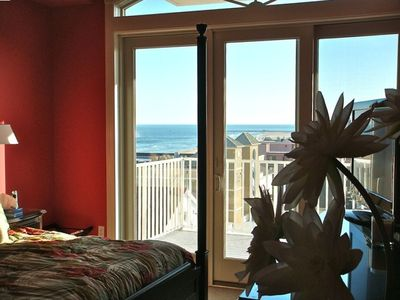 South Beach Ocean City condo rental - Master Bedroom view 1