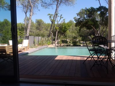 Accommodation near the beach, 102 square meters, with pool