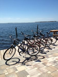 Palm Harbor house rental - House comes with 4 mountain bikes and helmets.