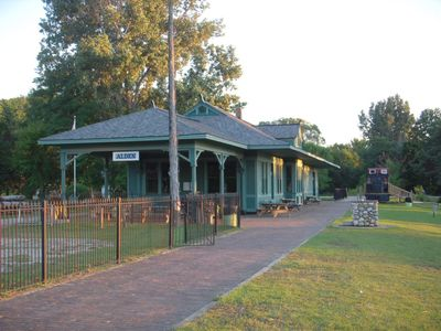 Historic Depot, and museum when there is not a public activity happening there