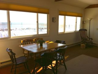 Rye house photo - Dining area with ocean views