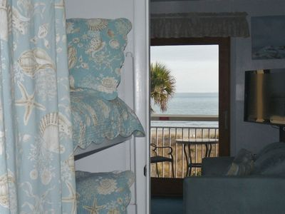 Forest Beach condo rental - Bunks in Hall Alcove