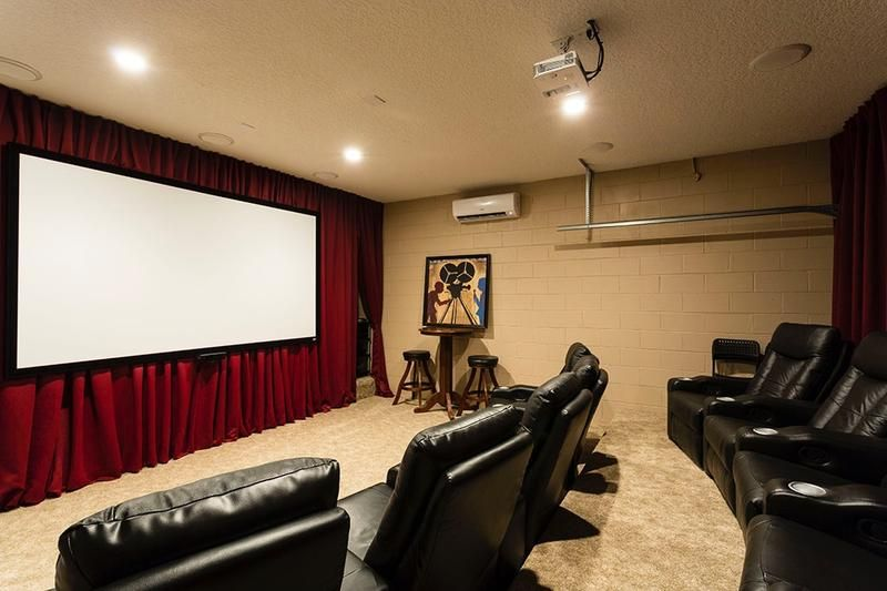 Movie Theater SOUTH Facing Pool Themed Bedrooms Everything