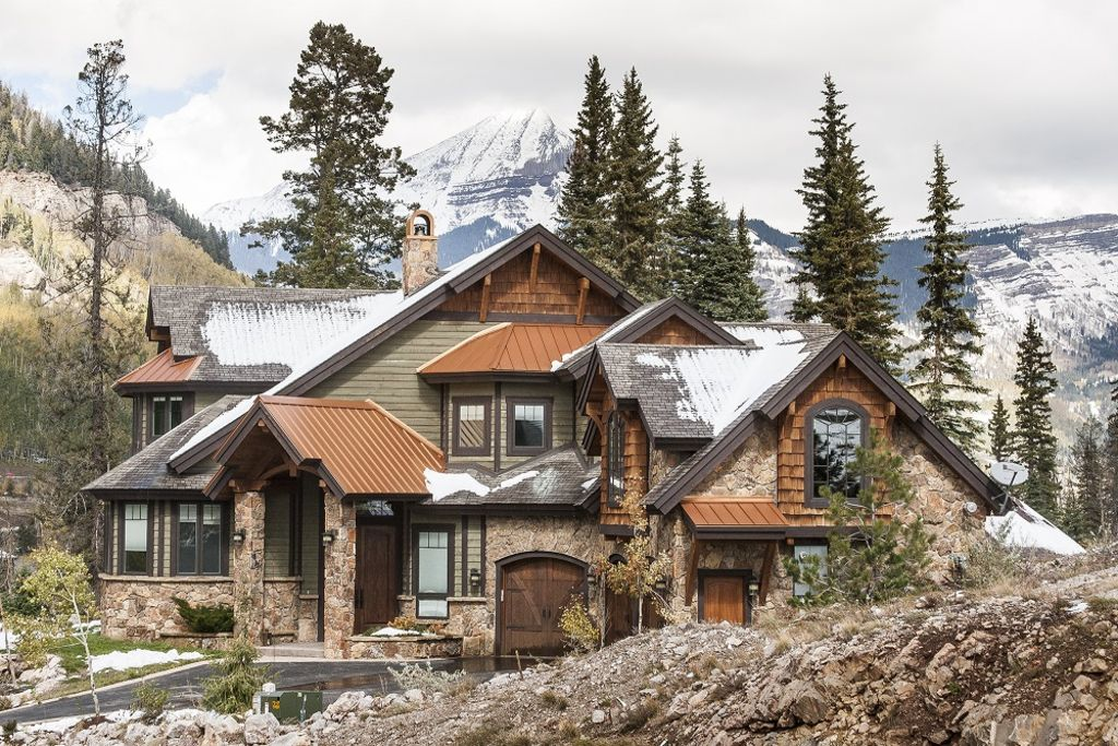Gorgeous mountain home with 360 mtn views vrbo for Build your house