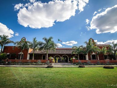 Hacienda Dzibikak - set in 12 acres of landscaped gardens