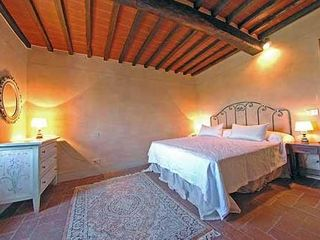 Gaiole in Chianti villa photo - Master bedroom with great views