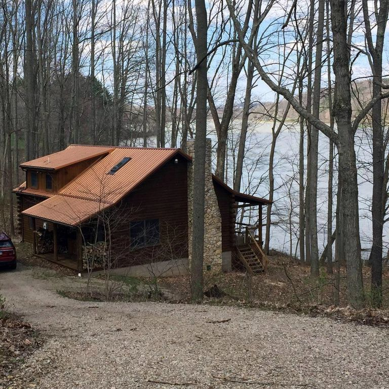 Gorgeous Hocking Hills Lake Front Cabin Right Vrbo