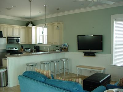 Family Room with Breakfast Bar