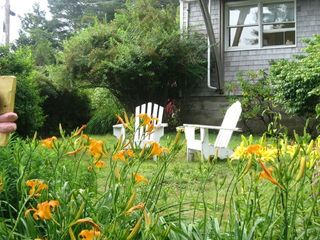 Monhegan Island house photo - front yard