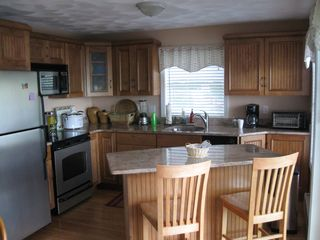 Barrington house photo - Brand new kitchen with granite counters