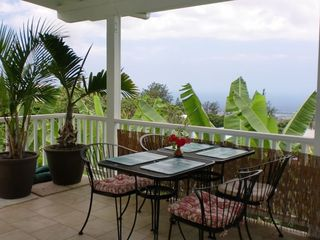 Enjoy Breakfast on the Orchid Suite Lanai