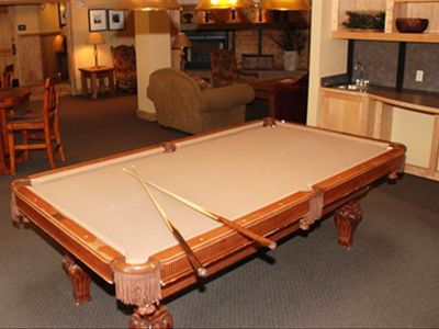Silver Mill's Pool Table