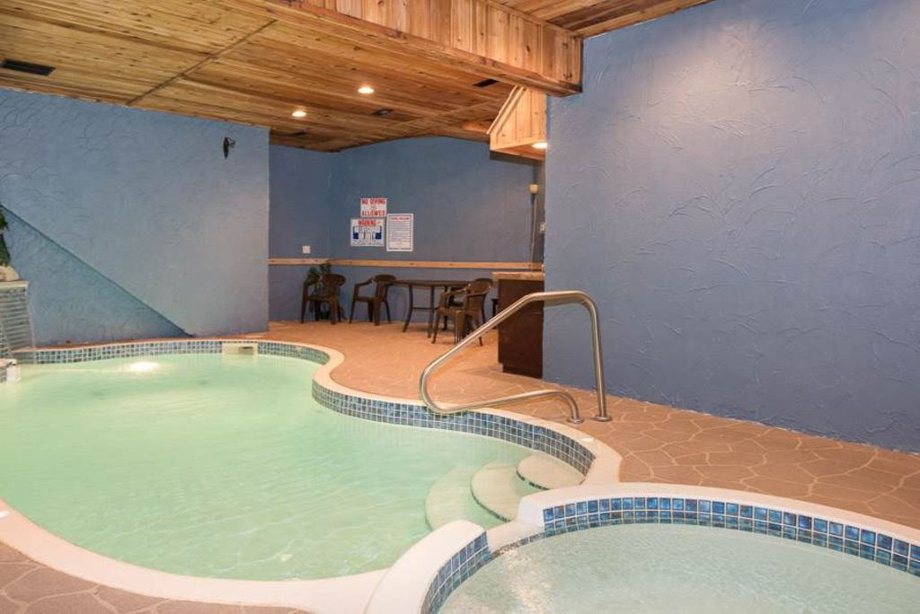 Forested With An Indoor Pool With Waterfall Homeaway