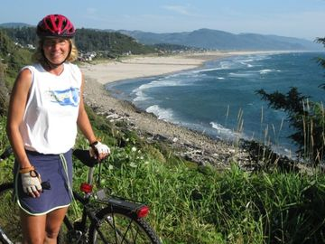 Sightseeing and Biking in Manzanita