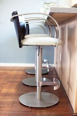 Bar stools at kitchen counter. - Phoenix townhome vacation rental photo