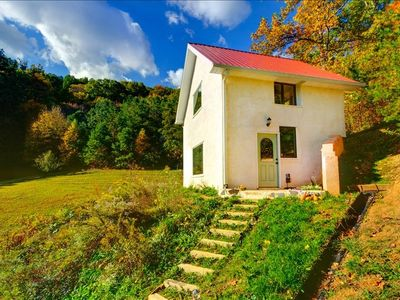 Asheville cottage rental - The Clearfield Cottage nestled in the beautiful Smoky Mountains.
