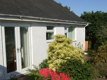 Morfa Nefyn cottage rental - Private rear garden