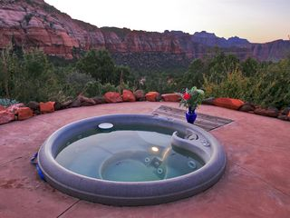 Virgin - Zion National Park estate photo - View towards South - with Jacuzzi Hot tub