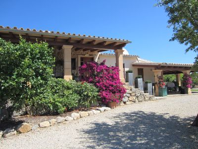 A homely and traditional 'finca' or country house