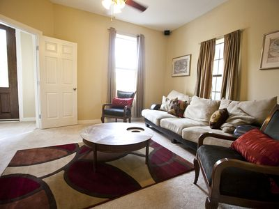 Austin house rental - Common living area, a perfect place to relax after a long day on the town.