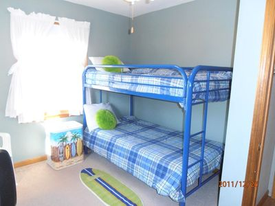 Cape May house rental - Bunkbed room with TV/DVD
