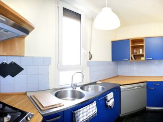 Milan apartment photo - self catered and fully equipped kitchen