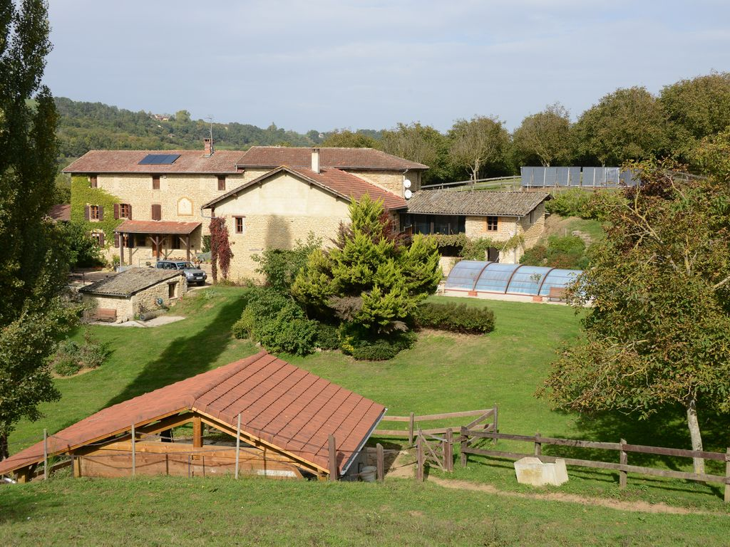 Dauphiné Country Farmhouse. Between the Rhône Valley and the Alps
