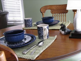 Biddeford apartment photo - Breakfast table