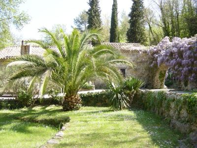 Live like locals 16thC Olive Mill above Roman ruins, ideal for families.