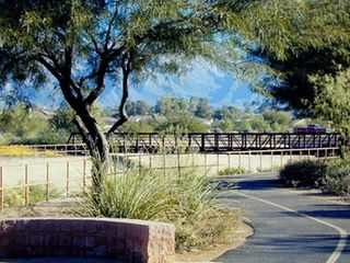 Exercise along the Rillito River Trail - Tucson condo vacation rental photo