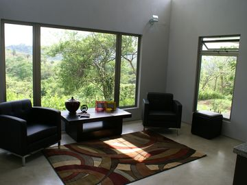 Living Room of the Guest House