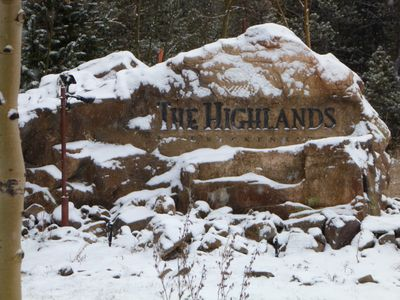 The Highlands is an exclusive neighborhood. All homes are on an acre or more.