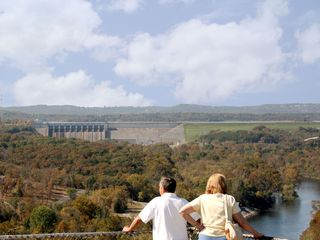 Branson condo photo - Hike around the area and view the dam and colorful fall foliage or spring flower