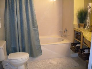 Splash Resort condo photo - Spacious master bathroom with huge soaking tub