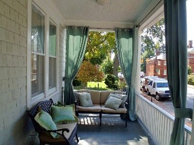 Enjoy Annapolis from the front porch without leaving home