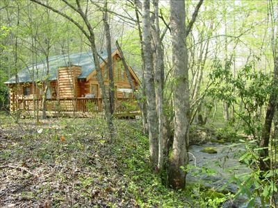 Log Cabin on Mountain Creek