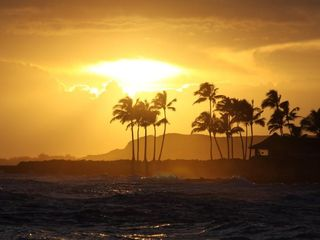 Poipu condo photo - Amazing sunsets await you at Kuhio Shores