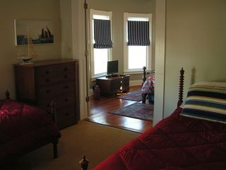 Cape Charles house photo - 2 adjourning rooms great for a family. 2 twin beds in 1st and a queen in 2nd