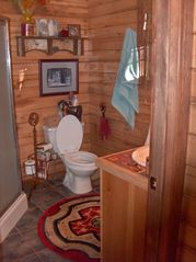 Pagosa Springs cabin photo - Bath with shower