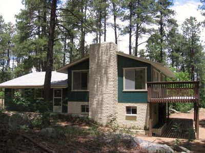 Prescott lodge rental - Senator's Lodge in the tall pines!