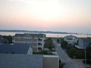 Bethany Beach house photo - West view of bay from rooftop deck