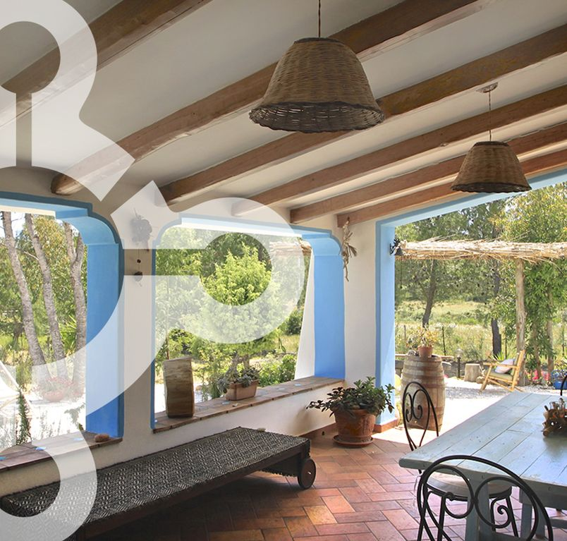 CASA PRANU / Idyllic country house with garden, near the beach, WiFi, all year round