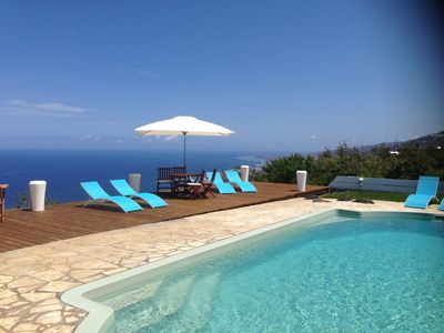 RESIDENCE DUPLEX (55 m2) CLIMATISEE HEATED POOL PANORAMIC VIEW ON LAGON
