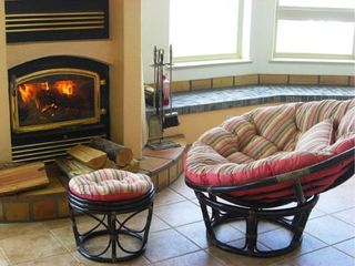 Bandon house photo - Custom fireplace for romance and winter comfort