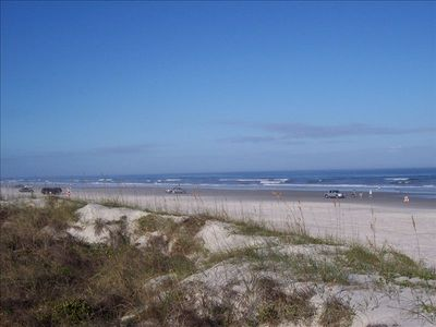 Enjoy the wide sandy beaches of St Augustine beach